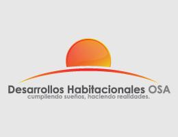 Logotipo Desarrollos Habitacionales Osa